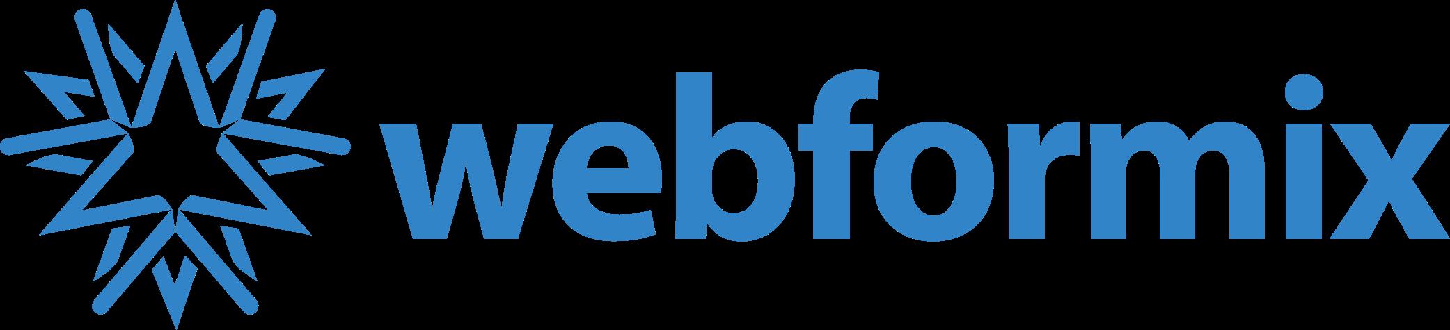 webformix logo with text