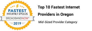 webformix award for fastest internet oregon