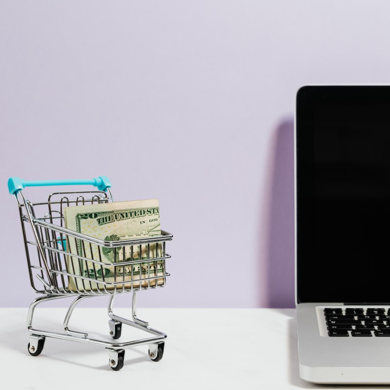 online shopping is more secure with money apps than cash or debit cards